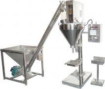 粉剂定量包装机+自动螺旋上