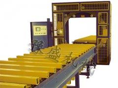 水平式钢管缠绕包装机