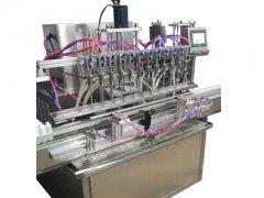 PLC磁力泵全自动灌装机